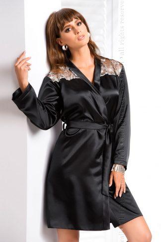 Irall Ida Black Dressing Gown