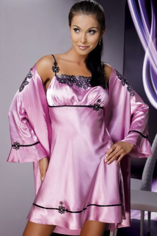 Irall Dusty Rose Mirabelle ll Dressing Gown
